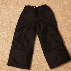 Cherokee black snow pants (size s 6/7)